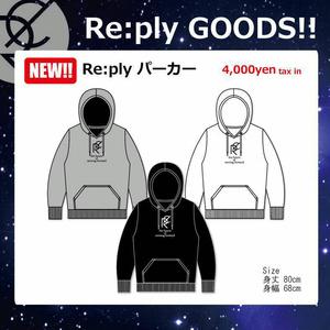 ビッグパーカー/センターロゴプリント【SOLDOUT】