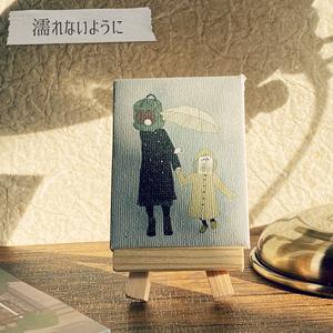 ロボット頭「思い出のミニキャンバス」