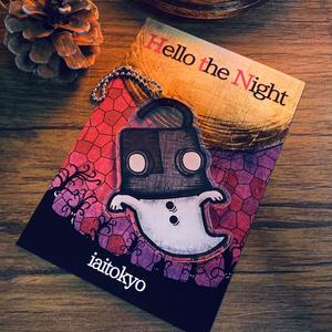 【新曲】「Hello the Night」楽曲付き ロボット頭おばけアクリルキーホルダー