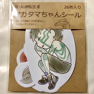 マガタマちゃんシール