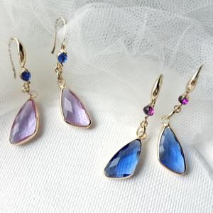 Drop Pierces-Blue