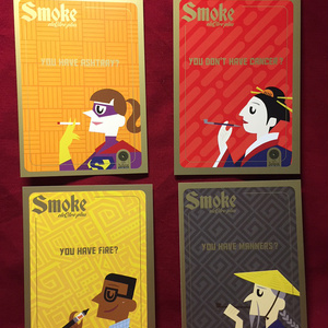 Smoke eleQtra plus ポストカードセット