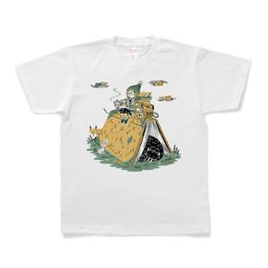 文科系山ガールTシャツ