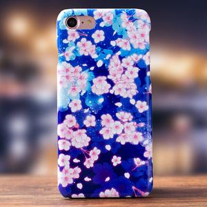 【Android/iPhone対応 スマホケース】 夜桜《送料無料キャンペーン中》