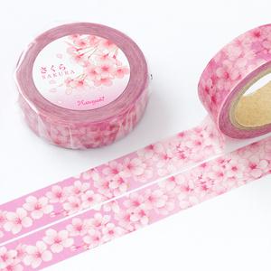 桜のマスキングテープ《Hanayukiオリジナルイラスト》