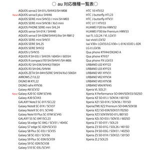 《カメラ穴ありAndroid対応機種一覧表》手帳型スマホケース(2020年2月5日更新)【観覧専用ページ】