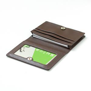 【Hanayukiオリジナル カードケース・名刺入れ】ベルガモットマリン