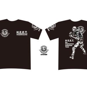 自宅警備隊Tシャツ/シルエット