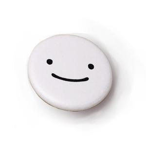 Smiley saurus 缶バッチ