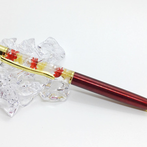 ハーバリウム ボールペン ハリー・ポッター ホグワーツ グリフィンドールイメージ