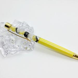 ハーバリウム ボールペン ハリー・ポッター ホグワーツ ハッフルパフイメージ