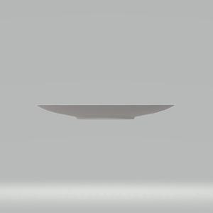 3Dモデル 皿(白) ゲーム・漫画等利用可
