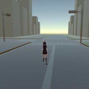 【Unity用】道路テクスチャ ゲーム・漫画等利用可