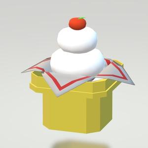 3Dモデル 2019お正月セット ゲーム・漫画等利用可