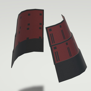 3D AVATAR ACCESSORIES Japanese Armor [YUKIMURA]