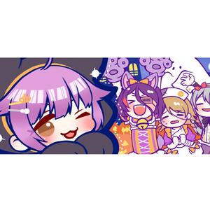 自称・魔法少女★長方形缶バッチ