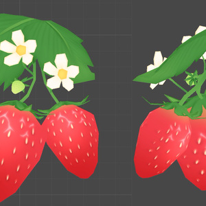 苺のアクセサリー