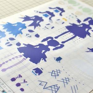 トレーシングペーパー図面 by「AIKATSU! PaperDolls vol.4」