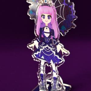 Acrylic resin Dolls VOL.4  氷上スミレ ブルーエンプレスコーデ.ver