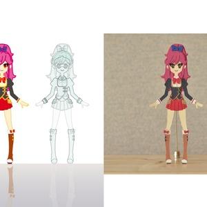 Aikatsu Paper Dolls VOL.1