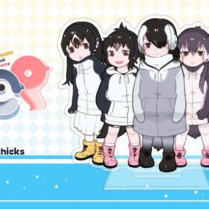 【ヒナペンギンフレンズ】アクリルスタンド