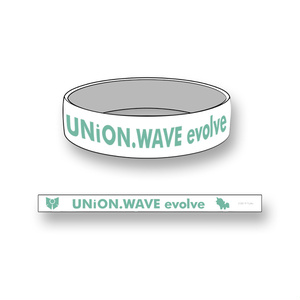 【UNiON WAVE -evolve-】 ラバーバンド