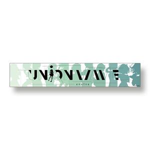 【UNiON WAVE -evolve-】 マフラータオル