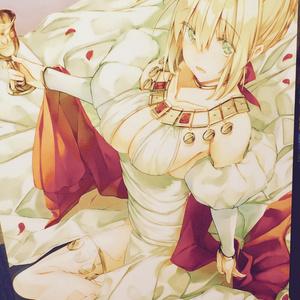 Fate Grand Order Fan Art ネロ・クラウディウス クリアポスター