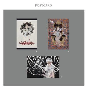 神展 ポストカード 【全3種】
