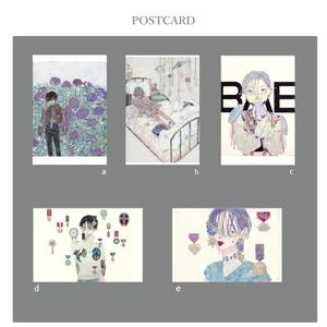 ポストカード2 【全5種】