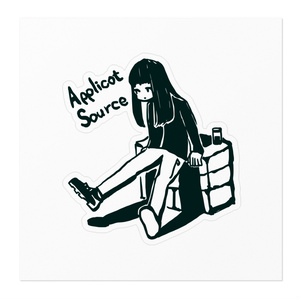 ApplicotSource Prototype Sticker