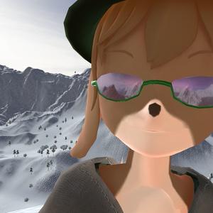 メガネ向けガラスシェーダー 色付き版 Ver.2.0c