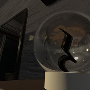 ガラス球向けガラスシェーダー Ver1.1