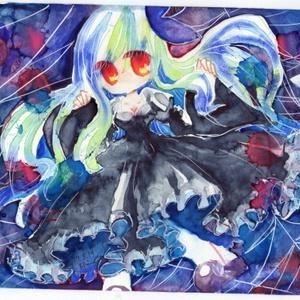 【オリジナル原画】標本少女:蝶