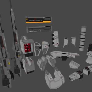 ArmoredPack01 Ver1.0
