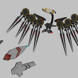 ヘッドセット+メディス子向け機械化パーツ