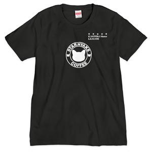 STARNYAKS Tシャツ KURONEKO Master KAGAMIver.