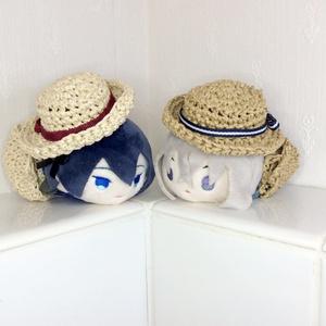 もちもちマスコット用 麦わら風帽子(お出かけバッグおまけ付き)