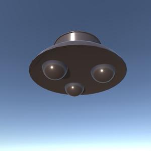 【3Dモデル】UFO
