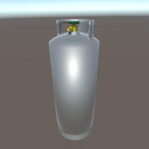 【3Dモデル】ガスボンベ