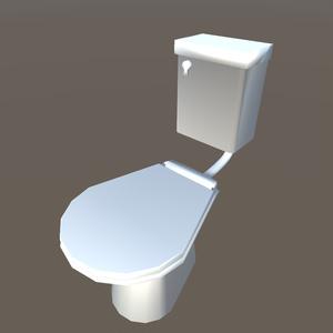 【3Dモデル】トイレ