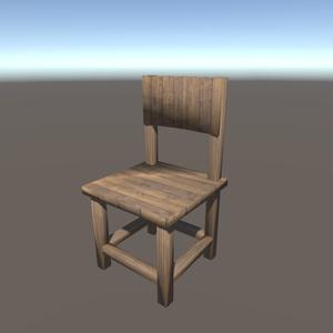【3Dモデル】椅子