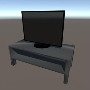 【3Dモデル】薄型テレビ