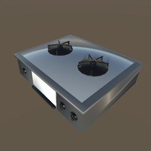 【3Dモデル】コンロ