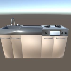【3Dモデル】キッチン