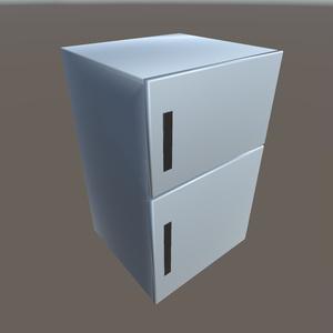 【3Dモデル】冷蔵庫