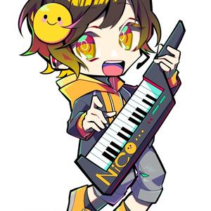【7'Keys】オリジナルアクリルキーホルダー NiCo ver