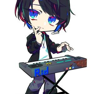【7'Keys】オリジナルアクリルキーホルダー Rid ver