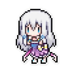 【寄付】ドット絵ステッカー