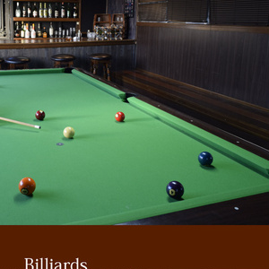 フォトブック『Billiards』